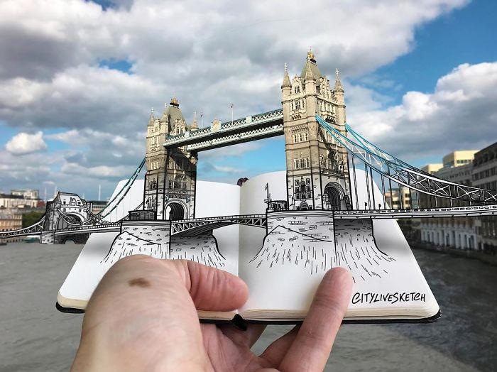 Тауэрский мост. Автор: Pietro Cataudella.