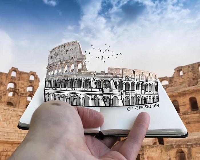 Колизей, Рим, Италия. Автор: Pietro Cataudella.