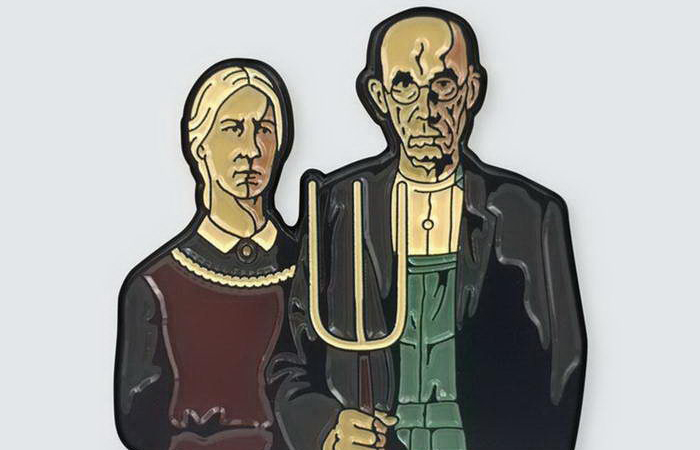 «Американская готика» Гранта Вуда. Автор: Pin Museum.
