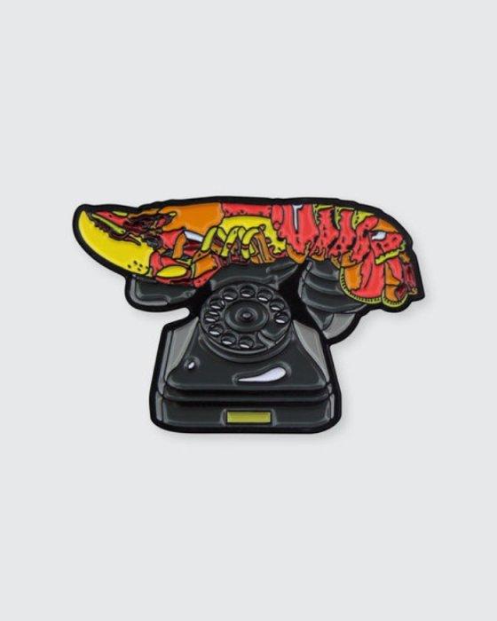 «Телефон-омар» Сальвадора Дали. Автор: Pin Museum.