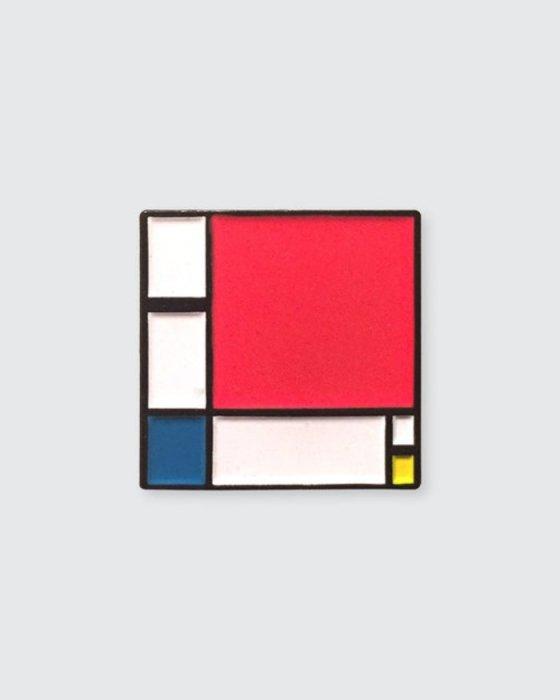 «II в красном, синем и жёлтом» Пита Мондриана. Автор: Pin Museum.