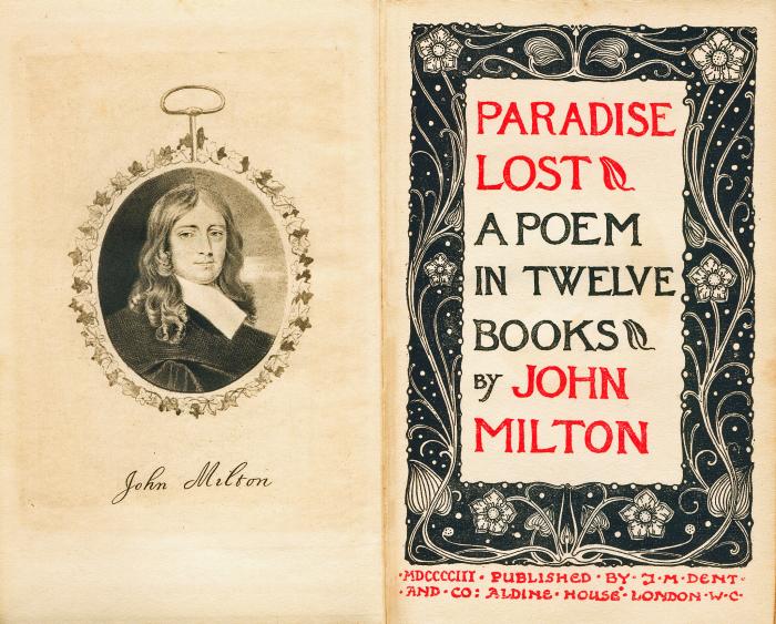 «Потерянный рай» Джона Милтона. \ Фото: upload.wikimedia.org.