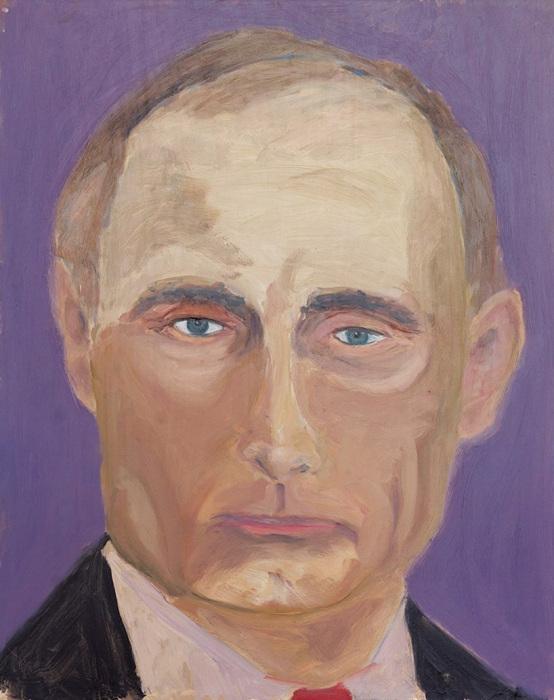 Портрет Владимира Путина. \ Фото: artranked.com.