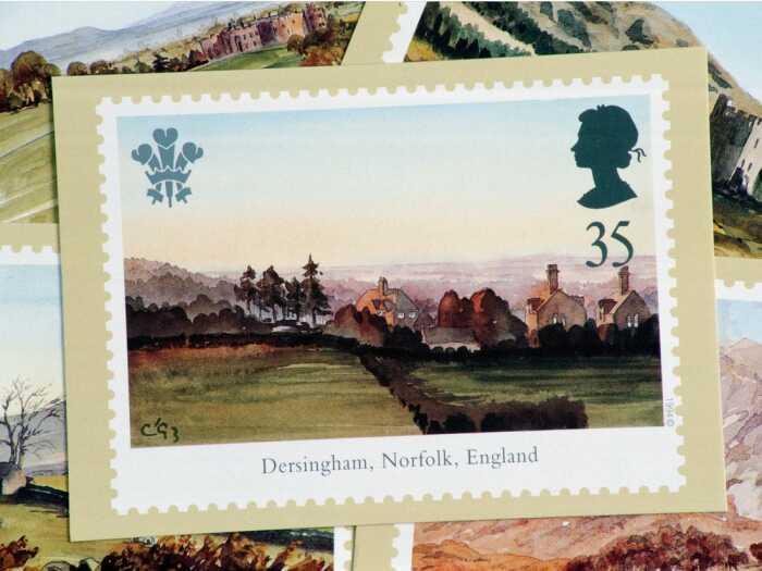 Его работы были напечатаны на королевских марках. \ Фото: insider.com.