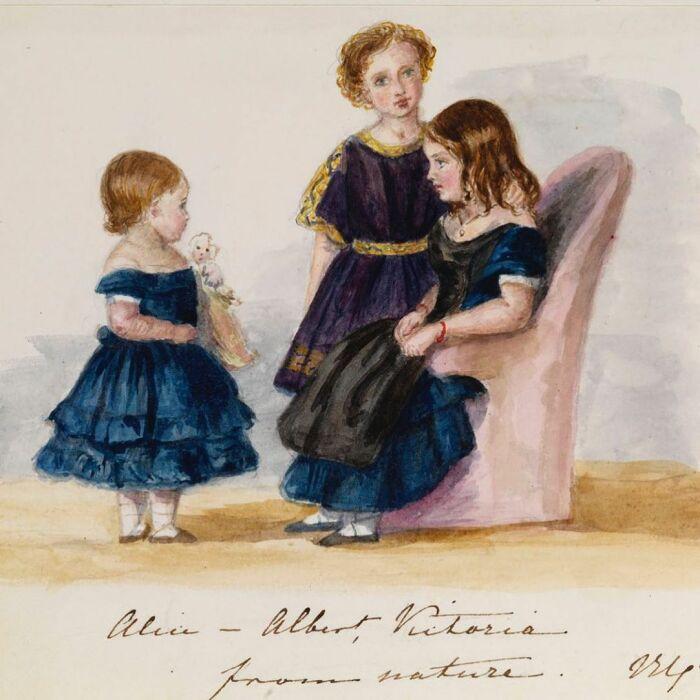 Принцесса Алиса, принцесса Виктория и принц Эдуард.\ Фото: instagram.com.