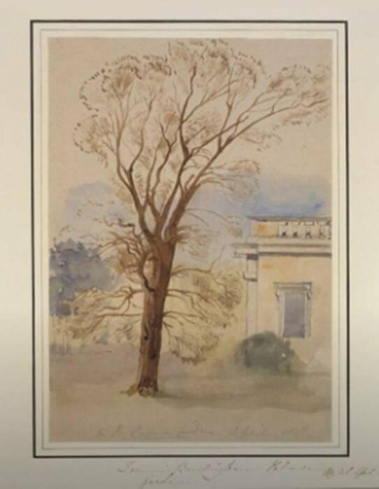 Картина королевы Виктории, 1847 год. \ Фото: google.com.