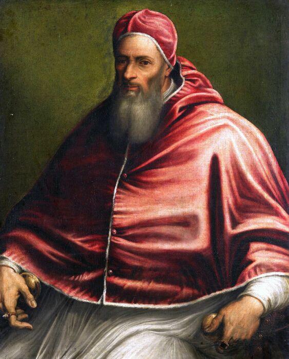 Юлий III сделал своего любовника простолюдина кардиналом. \ Фото: blogspot.com.