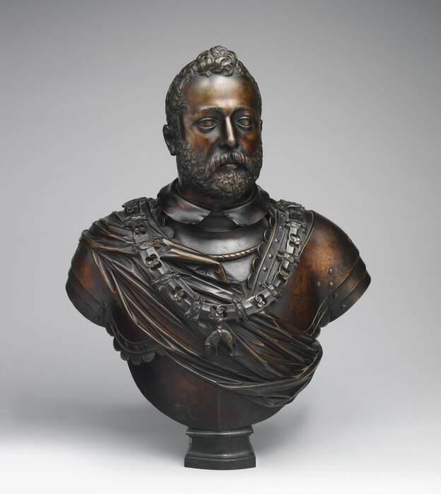 Франческо I Медичи (1541-1587), великий герцог Тосканы, смоделированный в 1585-87 годах по модели Джамболоньи, отлитой около 1611 года. \ Фото: wga.hu.