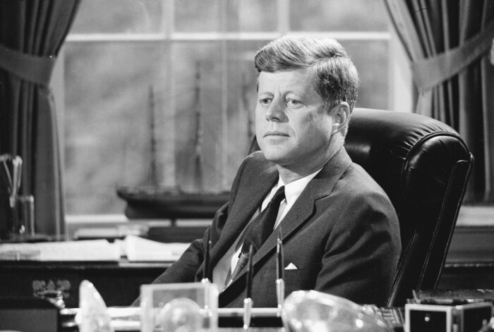 Джон Кеннеди. \ Фото: esquire.ru.