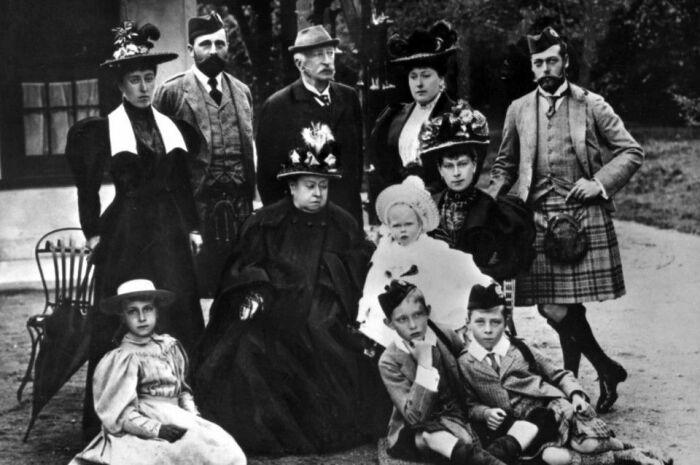 Сыновья и дочери королевы Виктории. \ Фото: reddit.com.