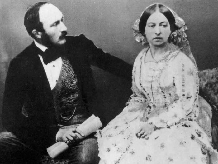 Фотография Виктории и Альберта, 1854 год. \ Фото: computerprojects.biz.
