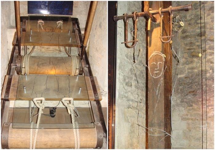 Орудия пыток в Тауэре. \ Фото: uk.m.wikipedia.org.
