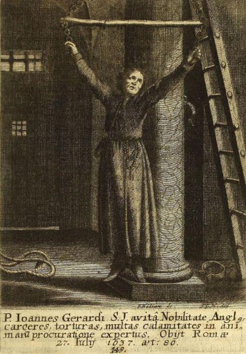 Священник Джон Джерард. \ Фото: google.com.ua.