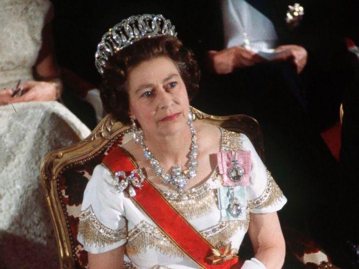 Королева Елизавета 22 мая 1978 года. | Фото: makaylaiu.bloger.cz.