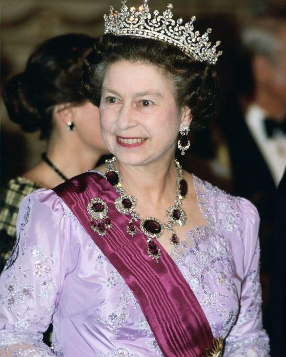 Королева Елизавета в марте 1985 года.