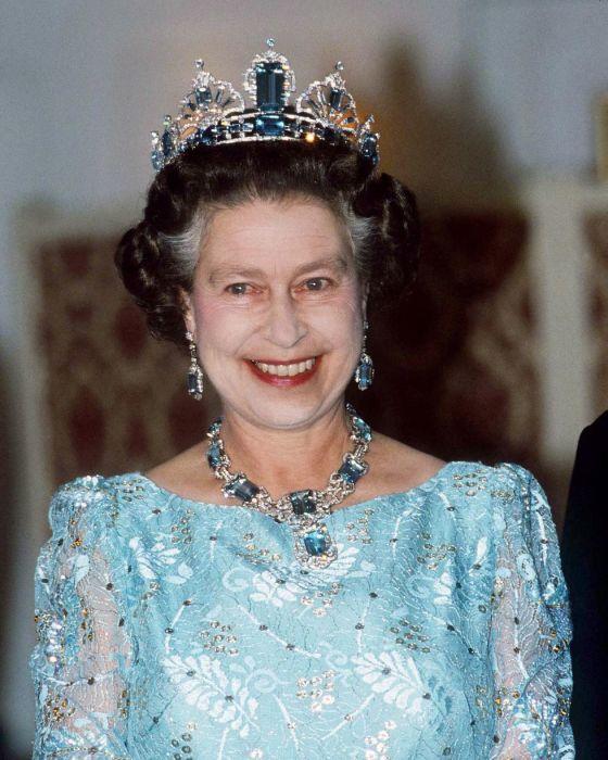 Королева Елизавета в октябре 1986 года.