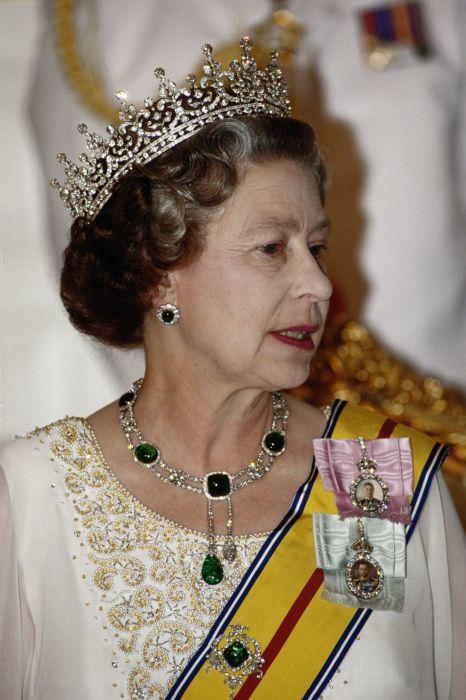 Елизавета в октябре 1989 года.