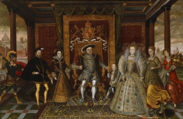 Отец Елизаветы Генрих VIII. \ Фото: wga.hu.