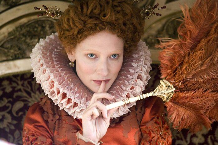 Актриса Кейт Бланшет в роли Елизаветы I. \ Фото: pinterest.com.