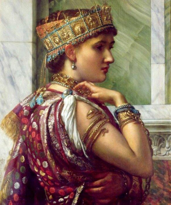 Эдвард Джон Пойнтер: Зенобия, царица Пальмиры. \ Фото: skyrock.com.