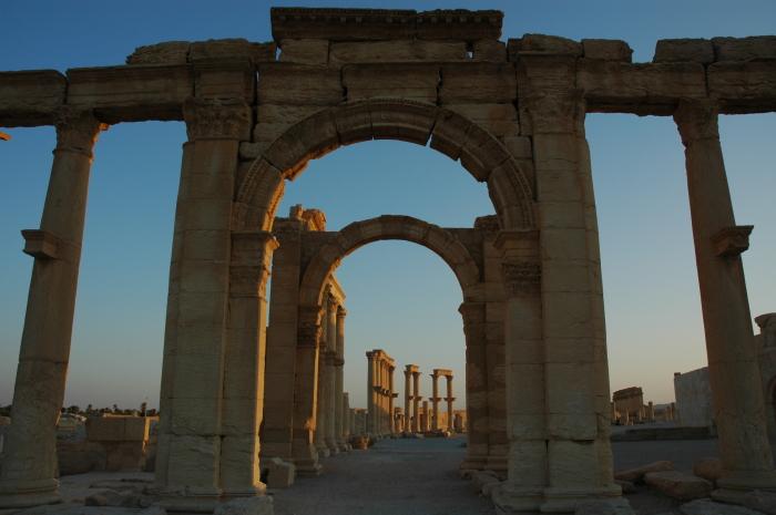 Руины Пальмиры, Сирия, 3-4 век н. э. \ Фото: historians.org.