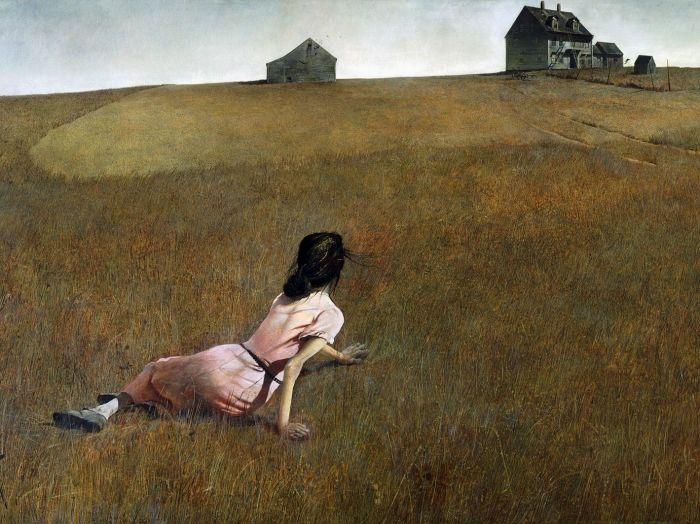 Мир Кристины (1948 год) - Эндрю Уайет.