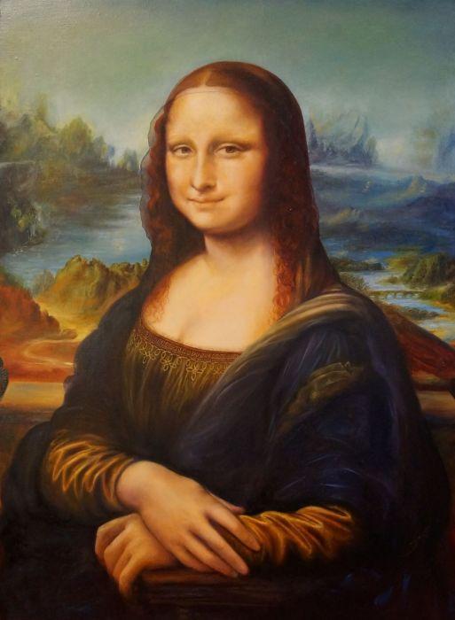 Мона Лиза (1517 г.) - Леонардо да Винчи.