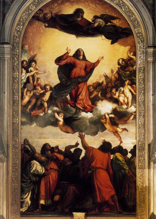 Успение Богородицы (1518 г.) - Тициан.