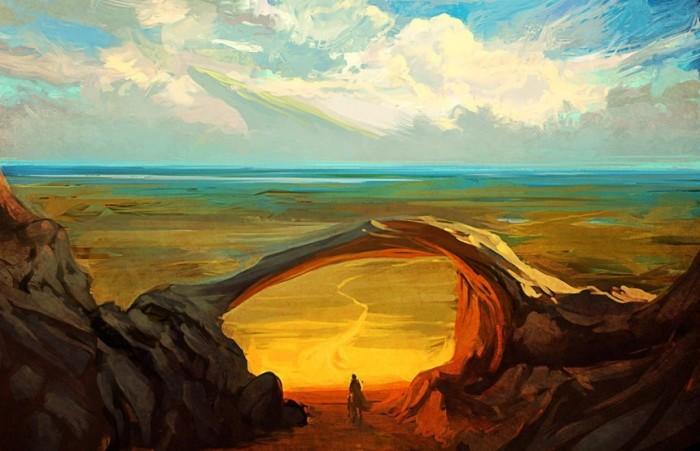 Бесконечная дорога. Автор: Артём Чебоха.