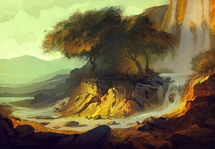 Дерево. Автор: Артём Чебоха.