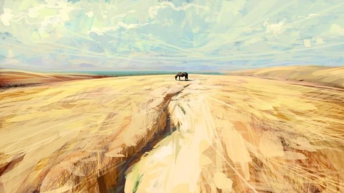 Лошадь. Автор: Артём Чебоха.