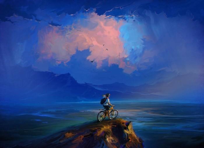 С видом на море. Автор: Артём Чебоха.