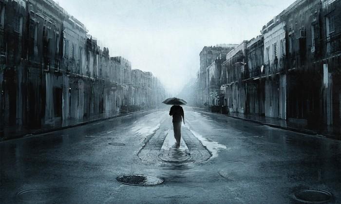 Дождь. Автор: Артём Чебоха.