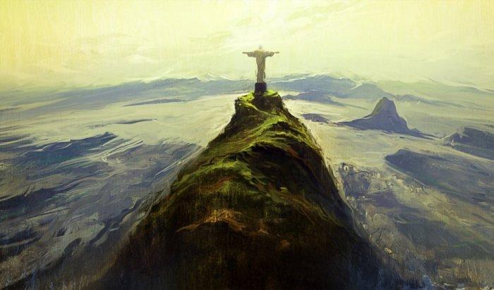 Статуя Христа. Автор: Артём Чебоха.