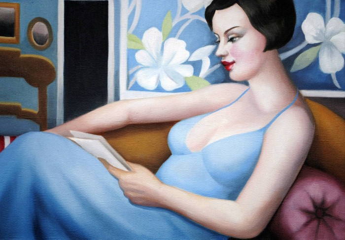 Утончённые женские образы в работах Рэйчел Дикон (Rachel Deacon).