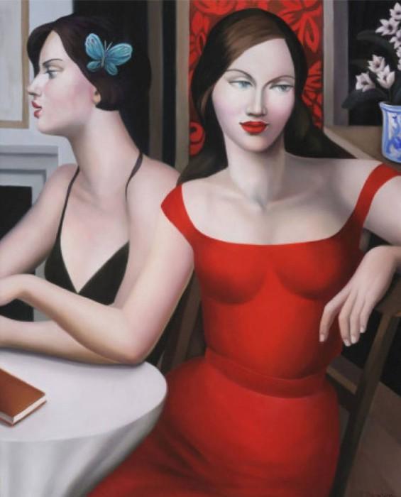 Изысканные женские образы в картинах Рэйчел Дикон (Rachel Deacon).