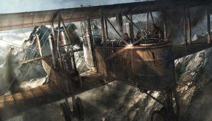 Воздушные пираты. Автор: Rado Javor.