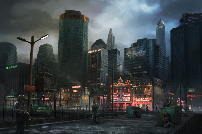 Нью-Йорк. Автор: Rado Javor.