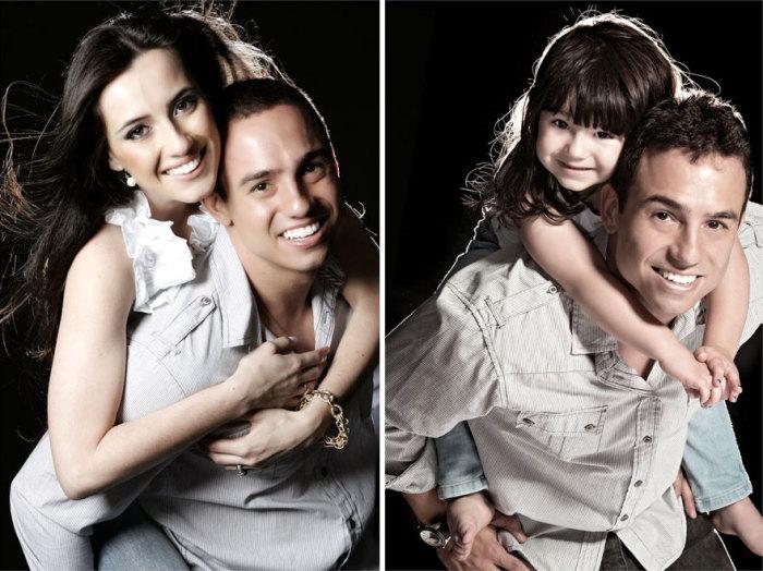 Серия фотографий, созданная в память о жене, погибшей в автокатастрофе. На фото: Рафаэль Дель Коль (Rafael Del Col) и его четырехлетняя дочь Раиса.