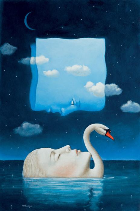 Забытые мечты. Автор: Rafal Olbinski.