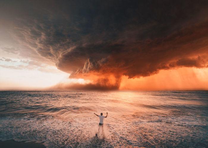Огненный торнадо. Автор: Raka Wisnu Wardhana.