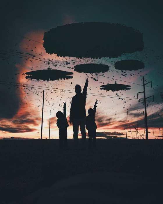 Тайна летающих объектов. Автор: Rama Krisna Mukthi Adi.