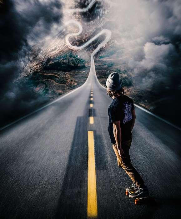 Дорога, ведущая в другой мир. Автор: Rama Krisna Mukthi Adi.