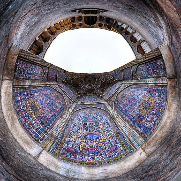Magic Mosque. (Магия мечети). Автор фото: Ramin Rahmani Nejad.