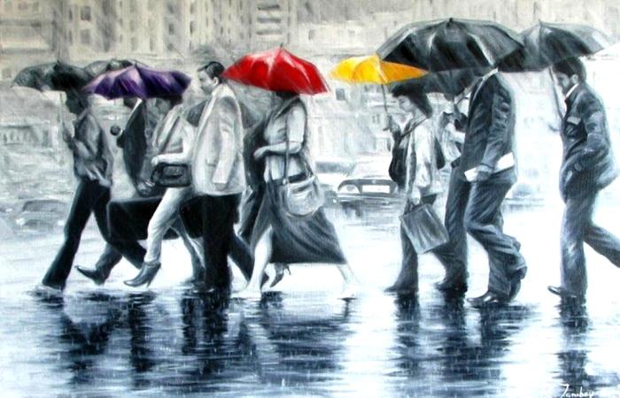 Зонтики. Автор: Rauf Janibekov.