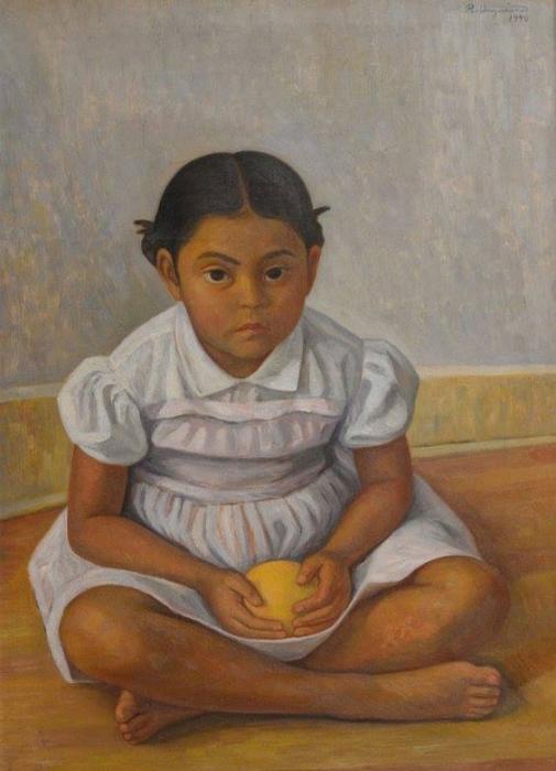 Ребёнок. Автор: Raul Anguiano.