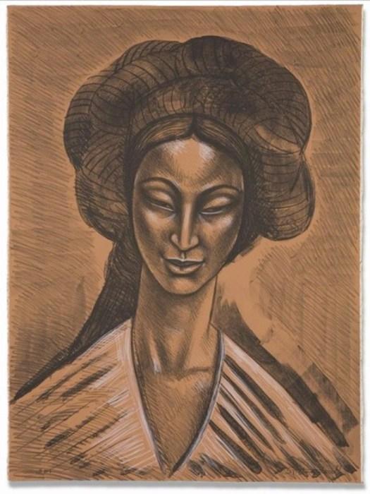 Восточная улыбка, 1981 год. Автор: Raul Anguiano.