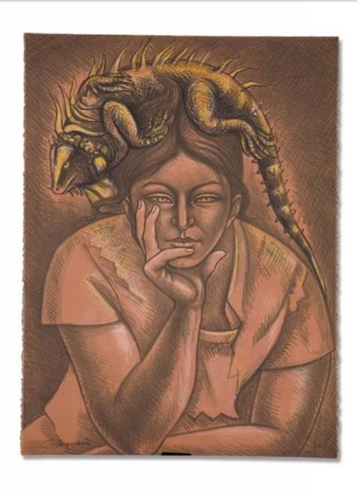 Меланхолия, 1982 год. Автор: Raul Anguiano.