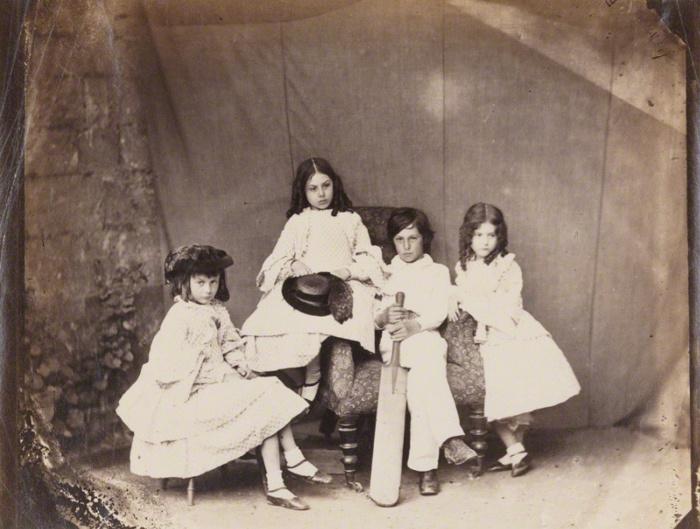 Дети четы Линделл, весна 1860 года.