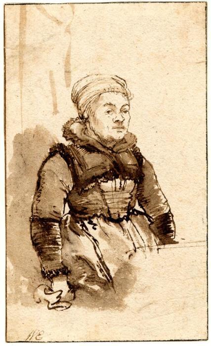 Возможный портрет Гертье. / Фото: britishmuseum.org.